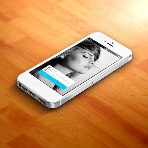 Login UI Dating App